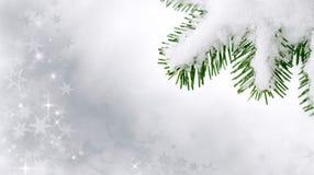 Teddybärspielzeug mit Schneeflocken Stockbilder