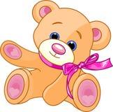 Teddybärvertretung lizenzfreie abbildung