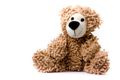 A Teddybear. An isolated teddy bear in studio Stock Photos