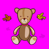 Teddybear esquelético libre illustration