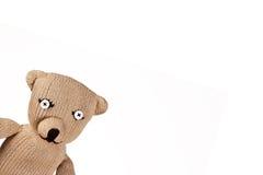 Teddybear hecho a mano Fotos de archivo libres de regalías