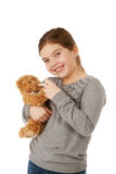 Teddybear temperature Stock Photos