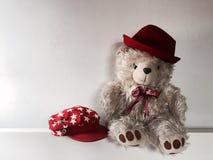 Teddybear. Waiting for someone Royalty Free Stock Photo
