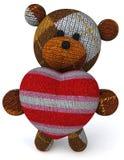 Teddybeer stock illustratie