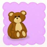 Teddybeer - Kinderachtige stijl Royalty-vrije Stock Foto's