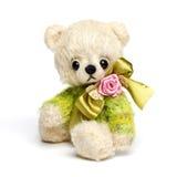 Teddybeer in klassieke uitstekende stijl royalty-vrije stock afbeeldingen