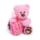 Teddybeer in klassieke uitstekende stijl royalty-vrije stock foto