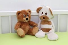 Teddybeer twee Stock Fotografie