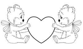 Teddyberen royalty-vrije illustratie