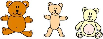 Teddyberen Royalty-vrije Stock Afbeeldingen
