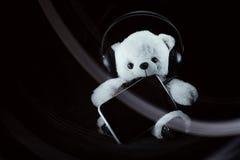 Teddys音乐 免版税库存图片