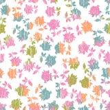 Teder rozen naadloos patroon Royalty-vrije Stock Foto