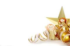 Tedere Kerstmisdecoratie royalty-vrije stock foto's