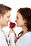 Tedere liefde Royalty-vrije Stock Foto