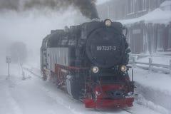Tedere locomotief Stock Foto