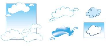 Tedere Wolken Royalty-vrije Stock Foto