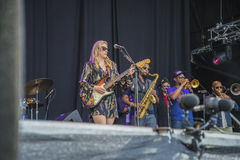 Tedeschi trucks band, usa, notodden blues festival Royalty Free Stock Photo