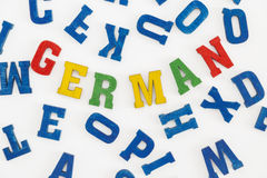 tedesco Immagini Stock Libere da Diritti