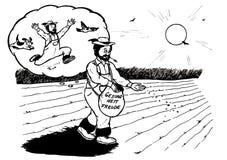 Tedesco sicuro dell'agricoltore (2008) Immagine Stock Libera da Diritti