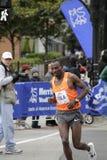 Tedese Tola running at 2009 Chicago Marathon Royalty Free Stock Image