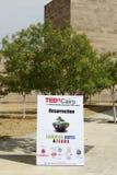 TEDx El Cairo 2011 Fotos de archivo libres de regalías