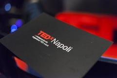 Tedx salon naples 2017 Royalty Free Stock Photography