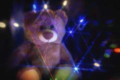 Tedy熊的魔术 免版税库存图片