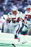 Tedy Bruschi New England Patriots Royalty Free Stock Photography