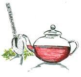 Tee stock abbildung