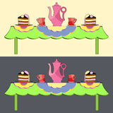 Tee break Stock Image