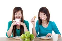 Tee-Bruch Stockfoto