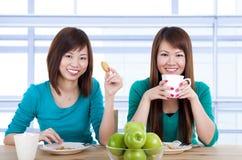 Tee-Bruch Stockbild