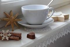 Tee in Christmas mood Royalty Free Stock Photos