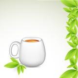 Tee-Cup vektor abbildung