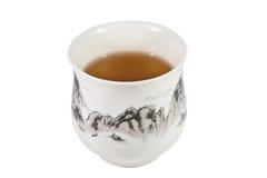 Tee-Cup Stockfoto