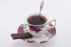 Tee Cup und Saucer Stockfotos