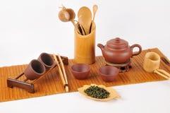 Tee, der Set macht Lizenzfreie Stockfotos