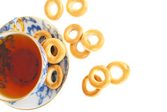 Tee and dray rings cookies. Stock Images