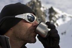 Tee für den Bergsteiger Lizenzfreie Stockbilder