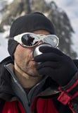 Tee für den Bergsteiger lizenzfreie stockfotos