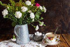 Tee für einen Lizenzfreies Stockbild