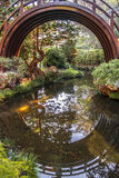 Tee-Garten-Brücke Lizenzfreie Stockfotografie
