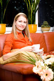 Tee girl Stock Image