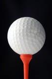 tee golfball Fotografia Stock