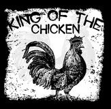 Tee graphic design animal style Royalty Free Stock Photography