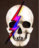 Tee Graphic  Illustration of Skull Stock Photography