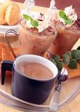 Tee Latte Lizenzfreies Stockfoto