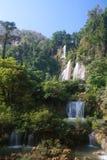 Tee Lor Su Waterfall Royalty Free Stock Images