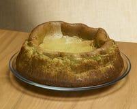 Tee Matcha-Käsekuchen Lizenzfreies Stockfoto