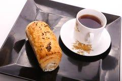 Tee mit paté lizenzfreie stockbilder